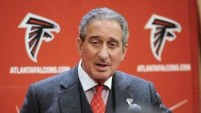 Arthur Blank es el dueño de los Falcons (AP-NFL).
