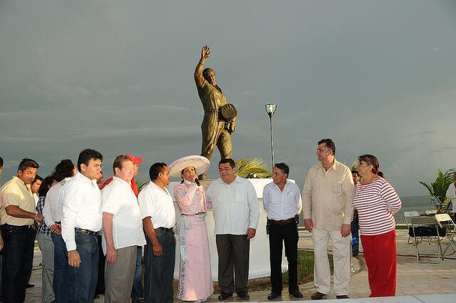 Estatua Pedro Infante Yucatán