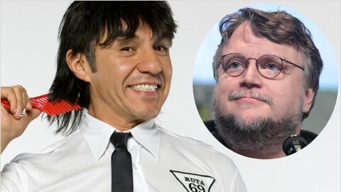 Adrián Uribe y Guillermo del Toro