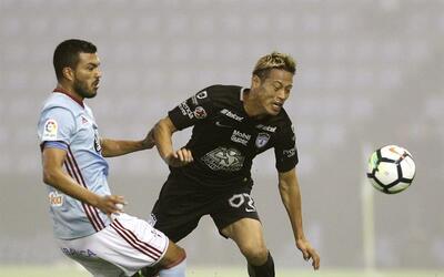 Pachuca perdió 3-4 ante Celta de Vigo