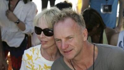 Sting les ha dicho a sus dos hijas y cuatro hijos que no esperen en la h...