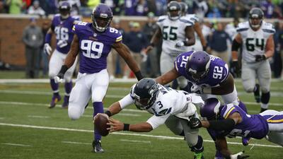 Seahawks 38-7 Vikings: Duro golpe de Seattle a Minnesota (video)