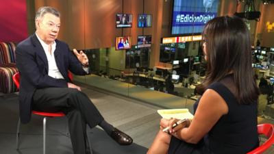 """Juan Manuel Santos: """"Cuba está avanzando hacia una democracia"""""""