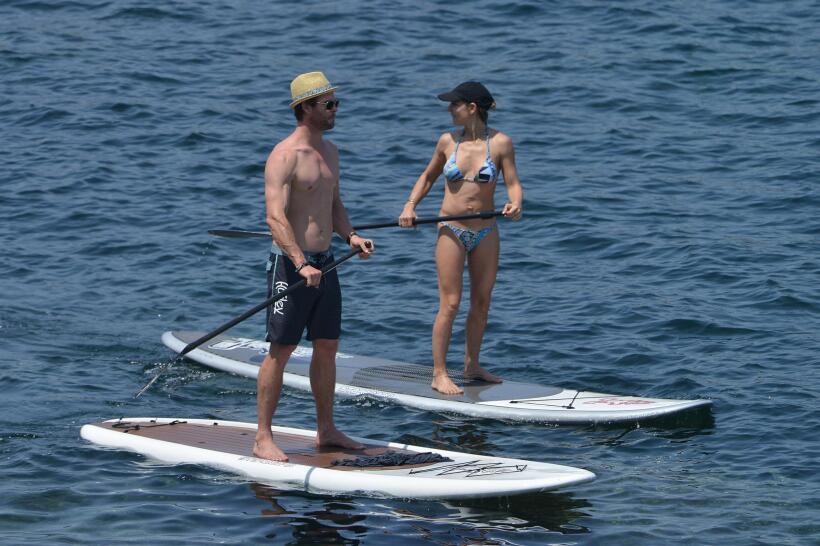 Las orillas del mar Mediterráneo fue el lugar escogido por pareja...