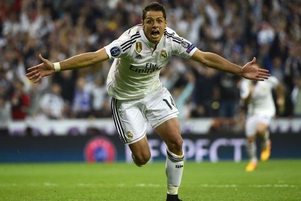 Javier lució incrédulo durante su festejo tras conseguir un gol que busc...