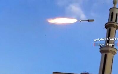 En video: Se intensifican los ataques con misiles del gobierno sirio en...