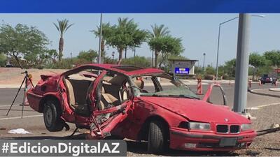 Nuevos detalles del accidente vehicular que dejó a cinco adolescentes heridos
