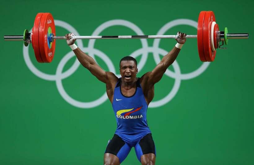 El colombiano Óscar Figueroa logró la primera medalla de o...