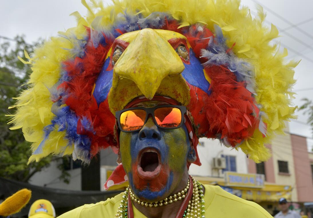La fiesta ya está prendida en Barranquilla para el partido Colombia vs....
