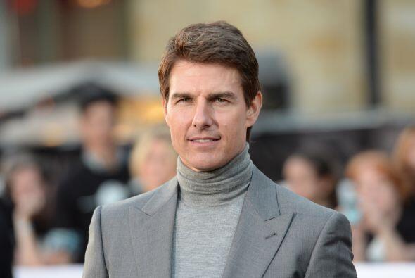 Tom Cruise está en la posición número 8 de Forbes. No por eso el actor d...