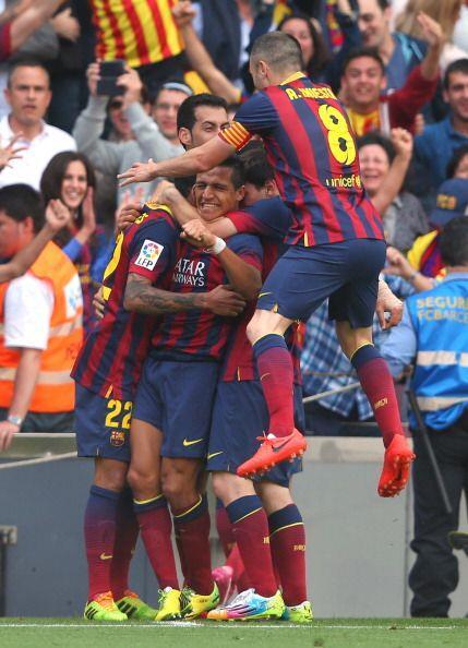 El Barcelona se ponía de líder y era campeón con ese resultado.