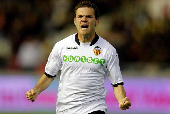 Juan Mata fue el autor de los primeros dos tantos del equipo 'naranjero'.