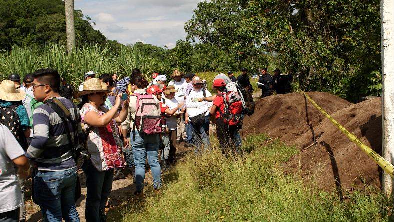 La brigada nacional de búsqueda de personas desaparecidas en México está...