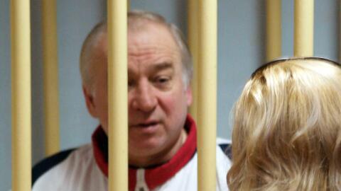 Skripal fue condenado en Moscú por ser un doble agente.