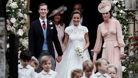Primeras imágenes de la boda de Pippa Middlento junto a su hermana