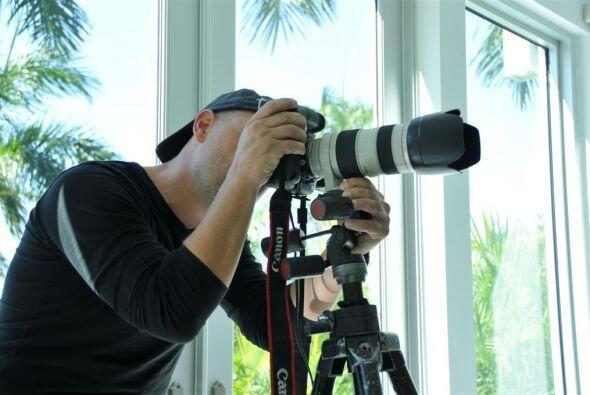 El reconocido fotográfo hizo su mejor trabajo para plasmar la belleza de...