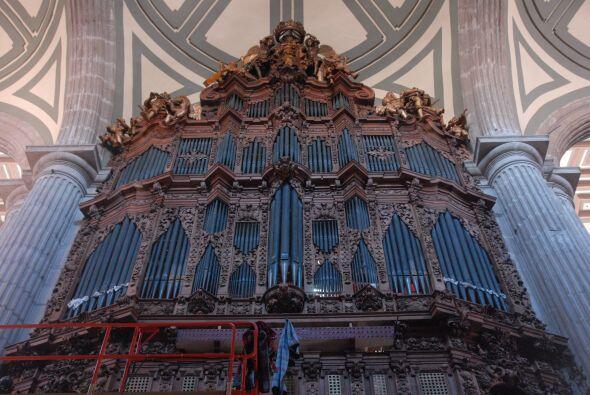 La Catedral cuenta con un órgano que fue construido en 1735 y el...