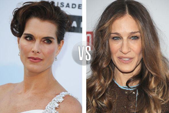 Brooke Shields y Sarah Jessica Parker son contemporáneas, tienen 48 años...