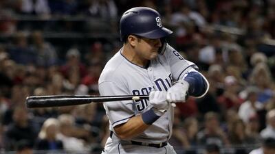 Doblete del mexicano Christian Villanueva le da la victoria a Padres sobre Nationals