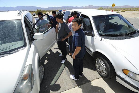 El hecho ocurrido en California con los jóvenes salvadoreños que iban a...