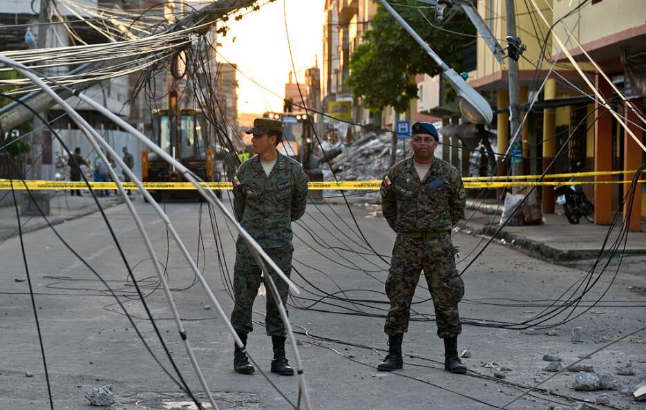 Las imágenes que nos deja el potente terremoto en Ecuador  ecuador6.jpg