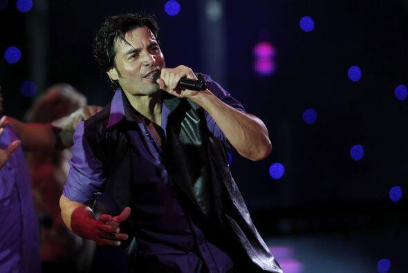 Chayanne es otro de los latinos que han logrado conquistar con su música...