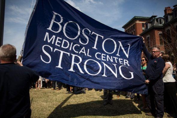 """""""Boston Strong"""" es otro de los lemas."""