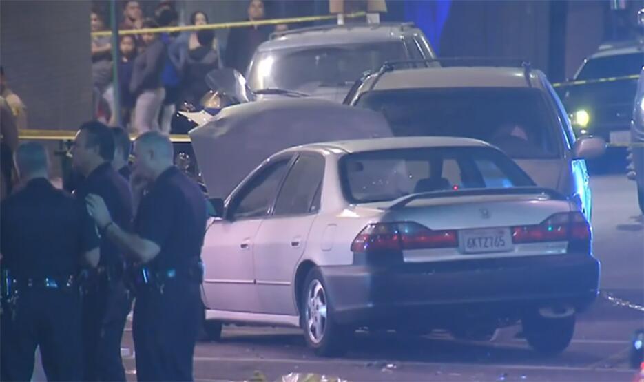 Accidente en Los Angeles