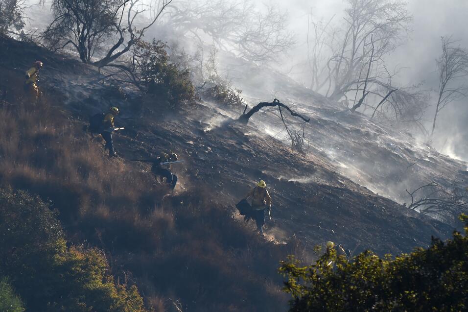 Incendio California Los Ángeles