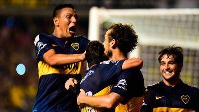 Los Xeneizes ganaron con gol de su nuevo refuerzo, Osvaldo.