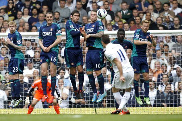 El galés del Tottenham le dio el triunfo a los 'Spurs' sobre el Sunderla...