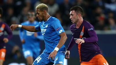 Hoffenheim 1-1 Manchester City: revive los goles del primer tiempo