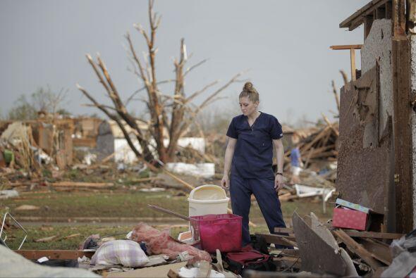 Entre los edificios afectados hay dos escuelas, un cine y un hospital y...