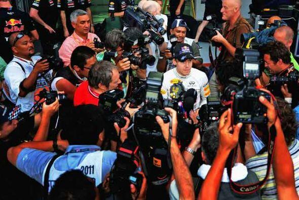 Y por su puesto, es el hombre del momento en el mundo de la Fórmula 1.