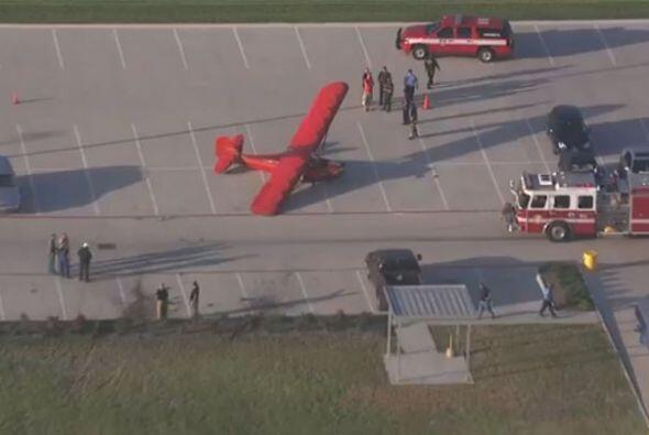 Una avioneta tuvo que realizar un aterrizaje de emergencia en el estacio...