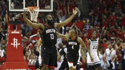 Los Houston Rockets sellan su pase a la siguiente ronda de Playoffs sobre los Timberwolves