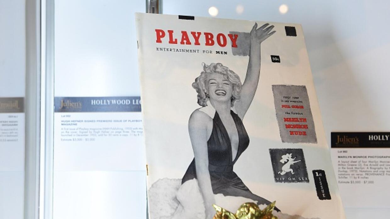 Marylin Monroe fue la primera portada de Playboy, en 1953