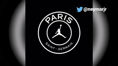 Paris Saint-Germain ya viste con la marca de Michael Jordan