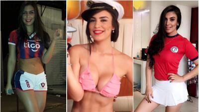 Esta es la sensual paraguaya que le compite a Larissa Riquelme