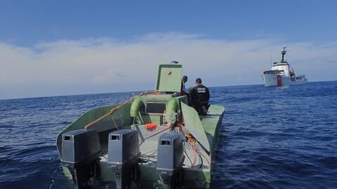 Las autoridades han notado una nueva tendencia de submarinos rudimentari...