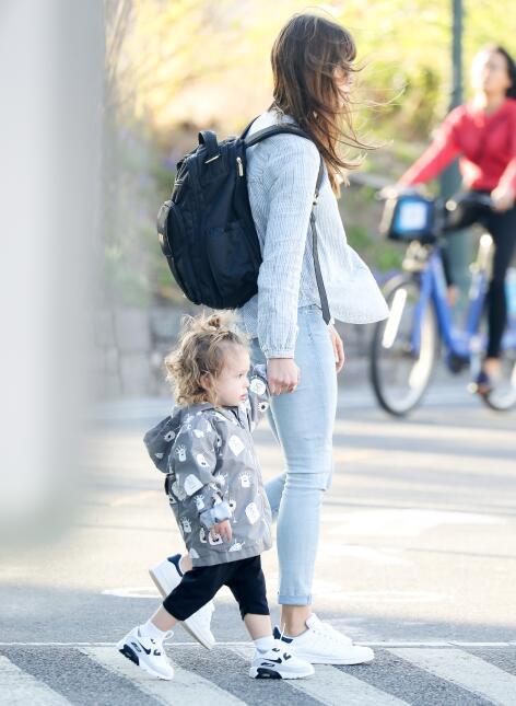 Silas Randall Timberlake, hijo de Jessica Biel y Justin Timberlake, pase...