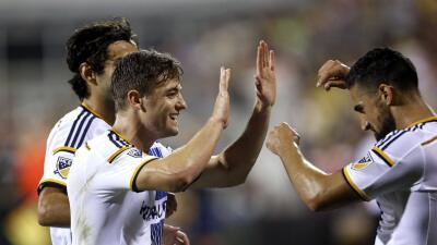 Lletget marcó su primer gol en MLS el sábado ante Columbus Crew.