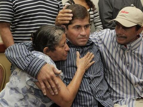 El pescador salvadoreño José Salvador Alvarenga, protagoni...