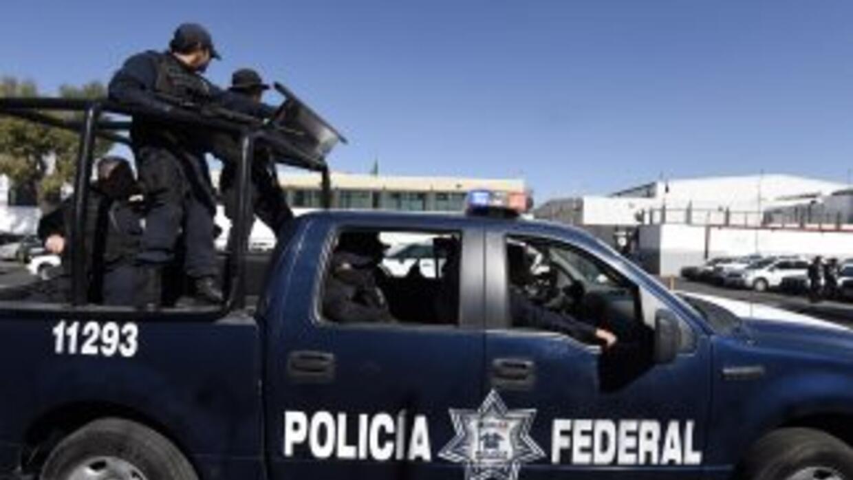 Policías federales mexicanos. (Imagen de Archivo).