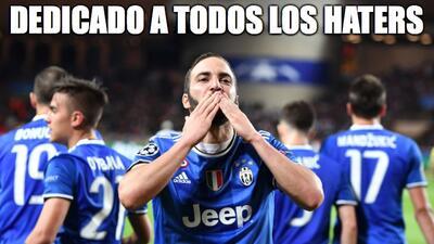 Higuaín fue la figura del partido y de los memes por la semifinal de Champions
