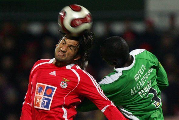 """En su fugaz paso por la liga de Portugal Francisco """"kikín"""" Fonseca tuvo..."""