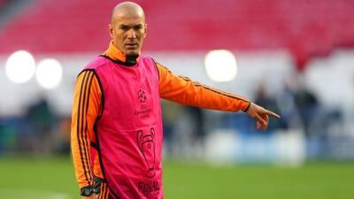 La sanción a Zidane es consecuencia de la denuncia presentada en su día...