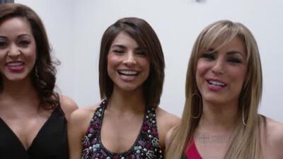 Alejandra, Rossina y Karol veían Sábado Gigante desde chiquitas