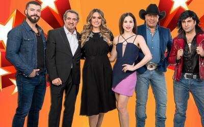 Galilea Montijo y los jueces de la tercera temporada de Pequeños...