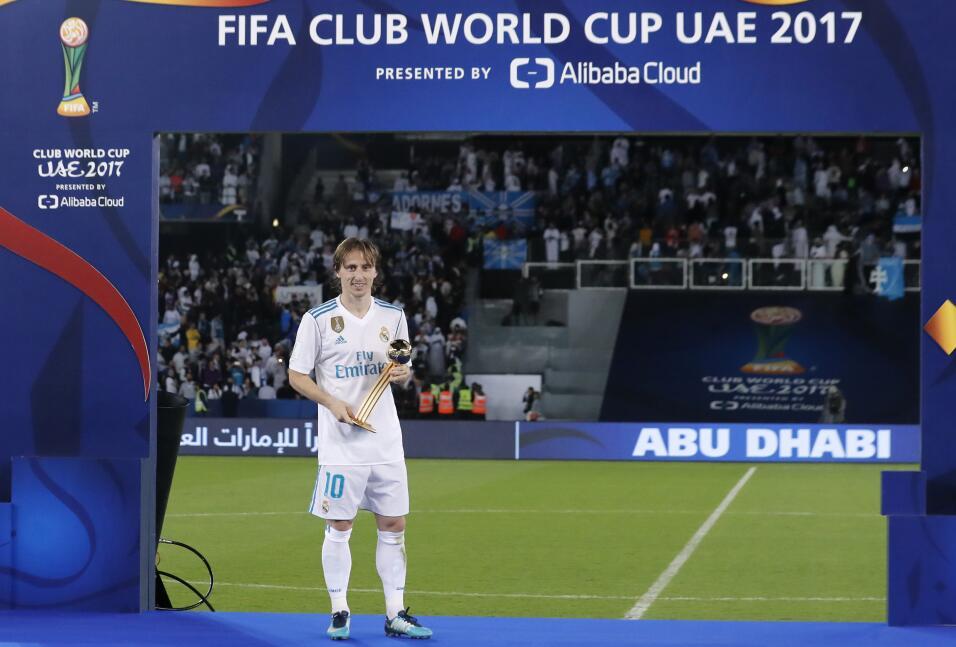 3. Luka Modric (Real Madrid / Croacia) - 81 puntos